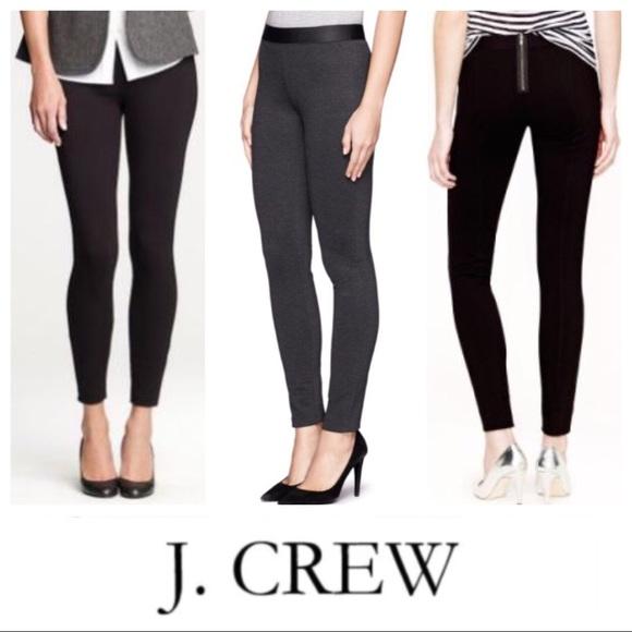 4220f7eca39512 J. Crew Pants | J Crew 6s Ponte Pixie Stretch Skinny Gray | Poshmark